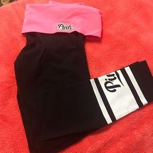 Pink Victoria's Secret Pants